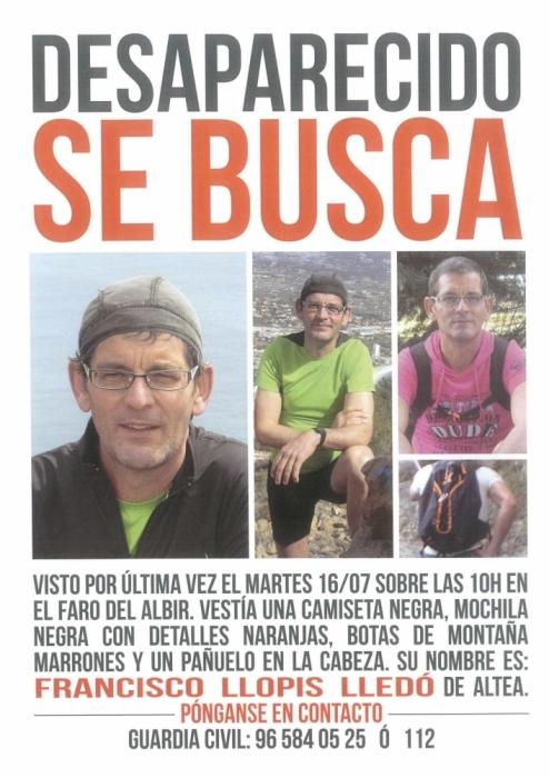 Nova cerca de Paco Llopis dissabte 27 de juliol