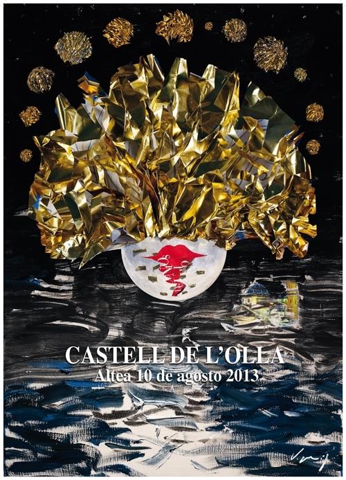 Es Castell de l´Olla il·luminarà un any més la badia d'Altea