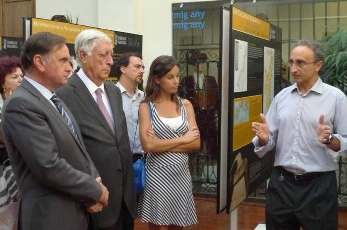 Altea acull la inauguració de la mostra 'Litoral entre Talaies', dins del Pla Director de Recuperació de la Via Augusta