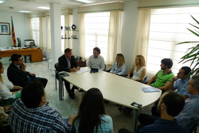 L'Ajuntament i Jeturbe col·laboren per a fomentar l'Ocupació i la Cultura Emprenedora