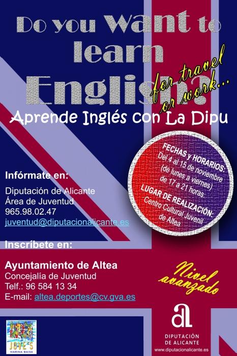 Aprèn Inglés amb la Dipu