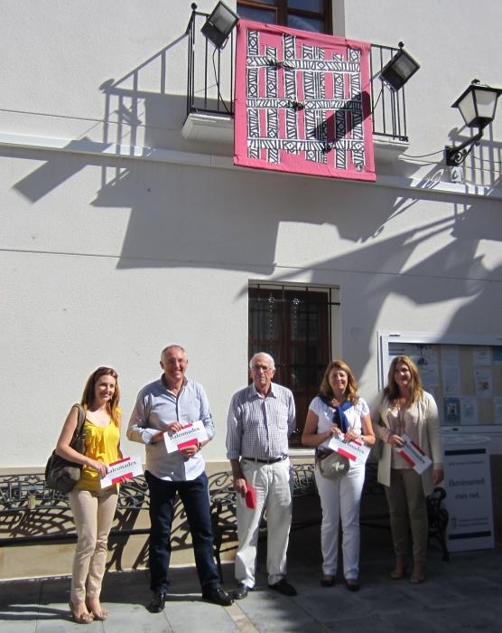 Benimantell acull aquests dies la iniciativa alteana 'Balconades'