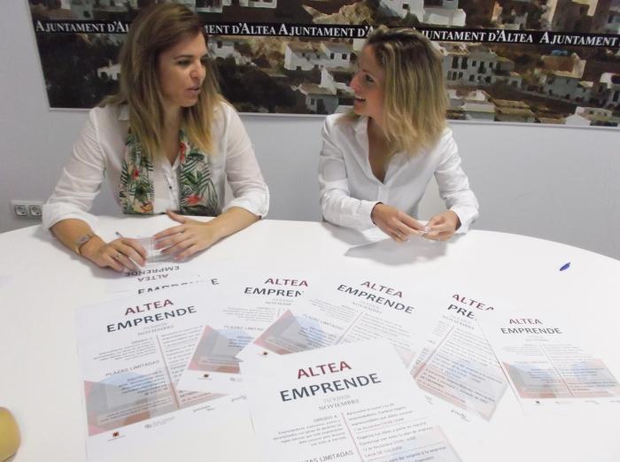 Ajuntament i Jovempa Marina Baixa organitzen per al mes de novembre les jornades 'Altea Emprèn'