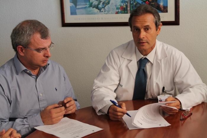 L'Ajuntament i la Unitat d'Hospitalització a domicili de l'Hospital Marina Baixa acorden l'atenció sociosanitària en el domicili a pacients amb cures pal·liatives i als seus familiars