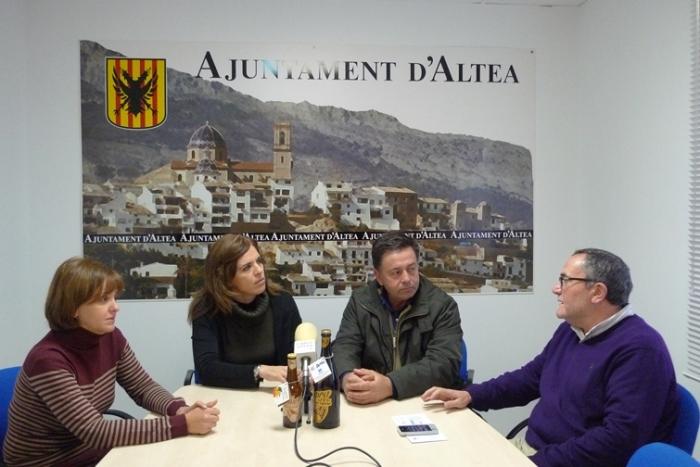 """L'Ajuntament i la Cooperativa Agrícola uneixen forces per a promocionar la marca 'Altea' a través de la nova estratègia de promoció turística """"Visit Altea"""""""