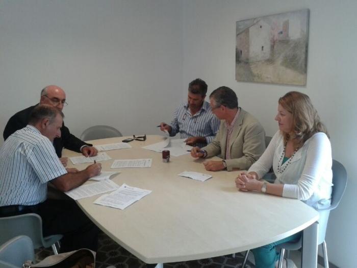 Acord entre l'Ajuntament i la Comunitat de Regants d'Altea la Vella