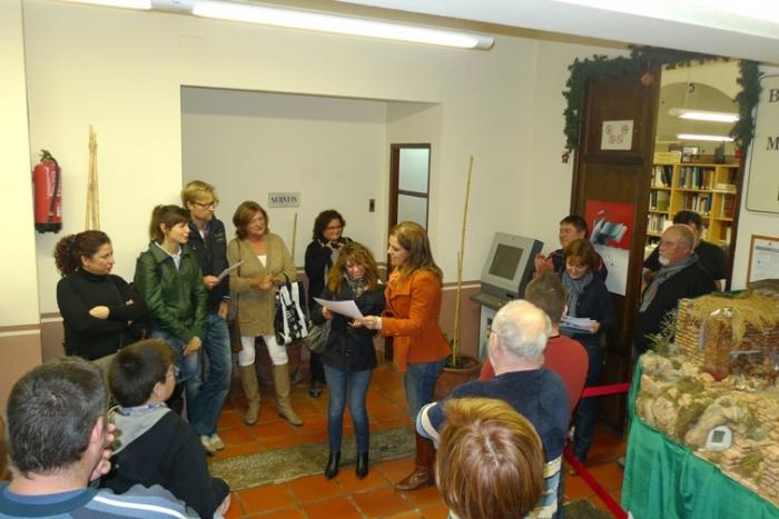 """Vicent Lloret i """"Amares"""", guanyadors dels concursos de betlens i aparadors de Nadal"""