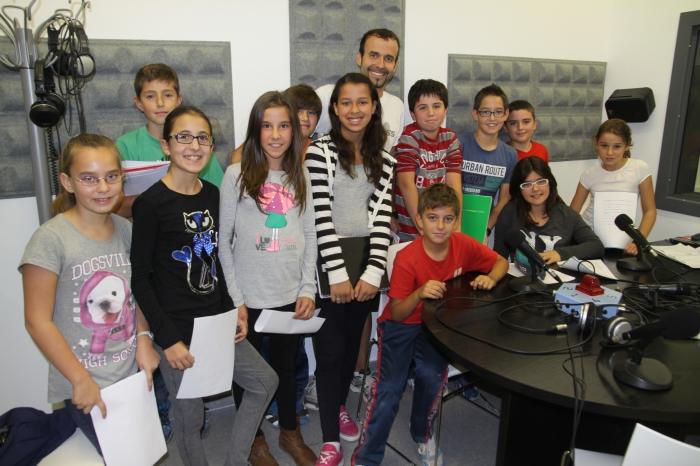 Ràdio Altea obri les seues portes i la seua programació als Col·legis Públics d'Altea i Altea la Vella