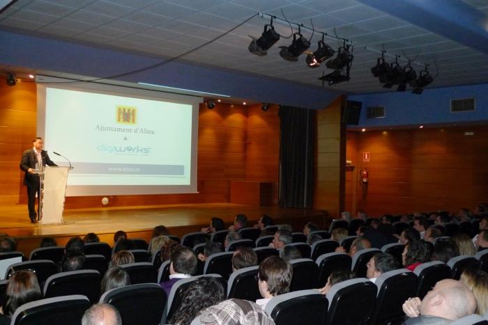 L'Ajuntament d'Altea inaugura la seua nova pàgina web www.altea.es
