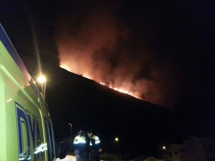 L'incendi proper a Poble Mascarat està quasi extingit
