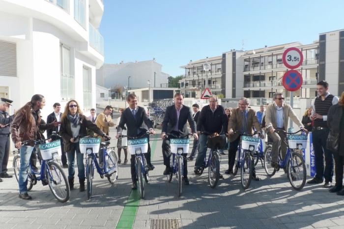 Altea contarà a la fi de 2013 amb 10 quilòmetres de carril bici