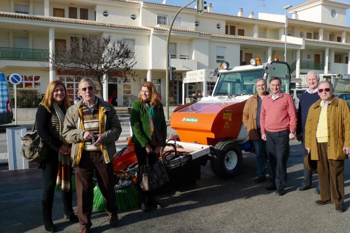 L'Ajuntament potencia la neteja de les urbanitzacions de la Serra i d'Altea la Vella amb l'adquisició de dues noves netejadores