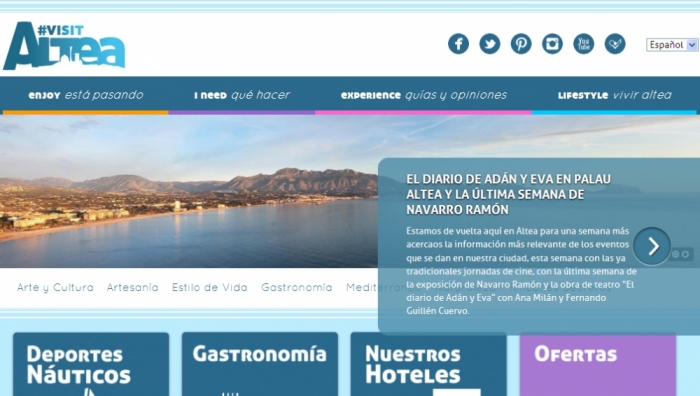 Altea aposta en FITUR per recuperar el turisme cultural i per la qualitat de vida com a atractiu per a les segones residències