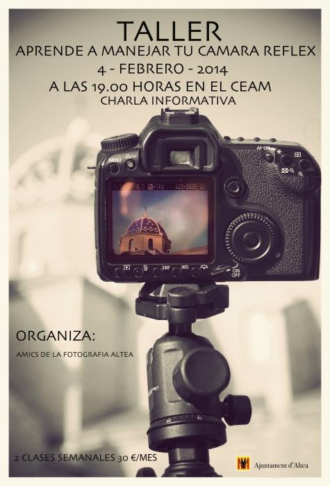 El CEAM acollirà el taller 'Aprèn a manejar la teua càmera Réflex'