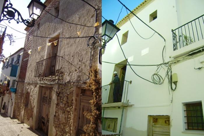 Urbanisme subvenciona la pintura de façanes del Nucli antic d'Altea i Altea la Vella