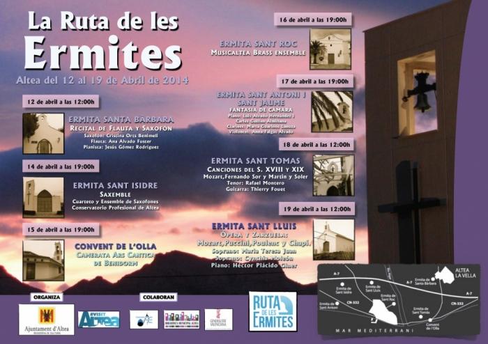 De Santa Bàrbara a Sant Lluis, música sacra, sarsuela i òpera en la 'Ruta de les Ermites' 2014