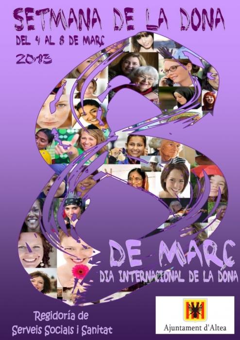 Altea celebra el 'Dia de la Dona', sota el lema 'Totes les dones, tots els drets, tots els dies'