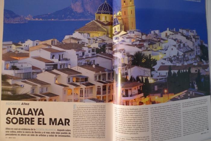 Altea i les seues platges i racons protagonitzen l'especial 'Hola Viatges'