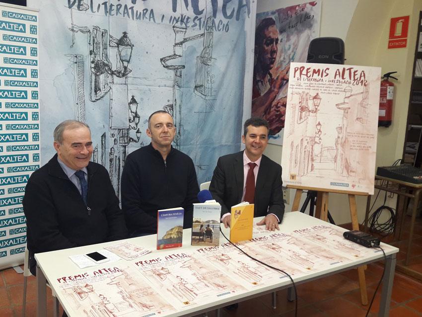 Arranca la segona edició dels Premis Altea de Literatura i Investigació