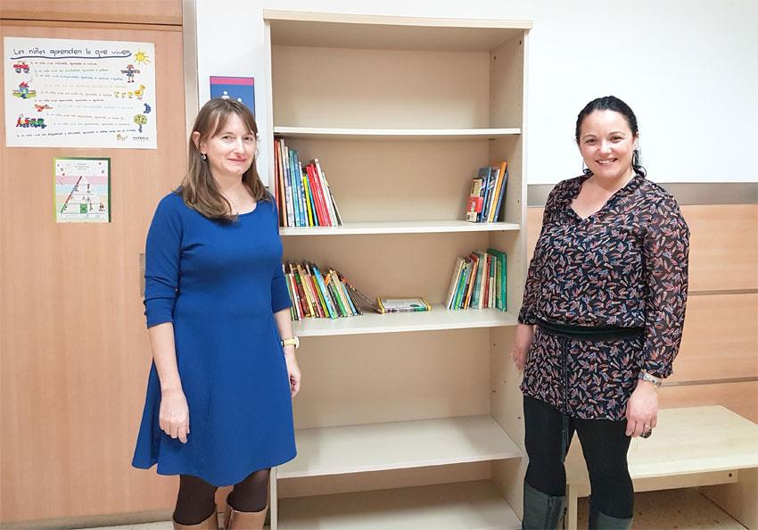 Nou espai per a la promoció de la lectura en l'àrea de Pediatria del Centre de Salut d'Altea