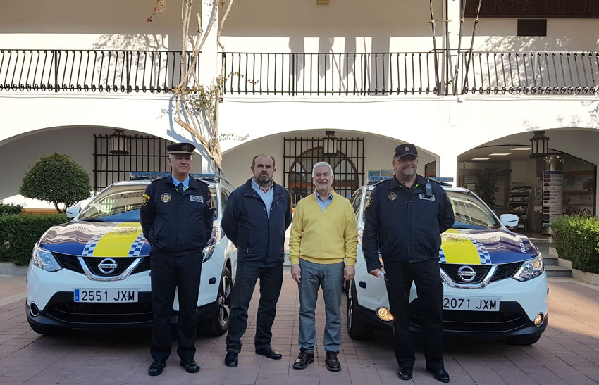 La Policia Local d'Altea incorpora dos nous vehicles