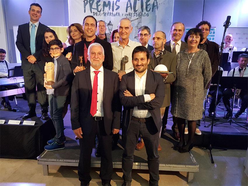 Joan-Lluís Moreno, Ivan Carbonell i Alberto Miralles guanyen els primers Premis Altea de Literatura i Investigació