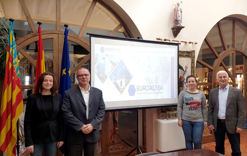 Altea posa en marxa l'Oficina de Projectes Europeus