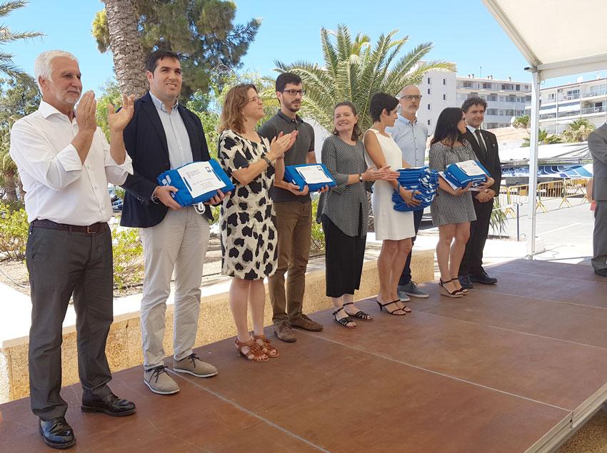 El Club Nàutic Altea acull l'acte d'entrega de les Banderes Blaves de la Comunitat Valenciana