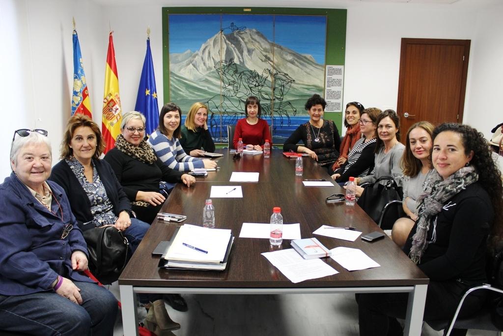 Altea participa en la reunió del Consell Comarcal d'Igualtat