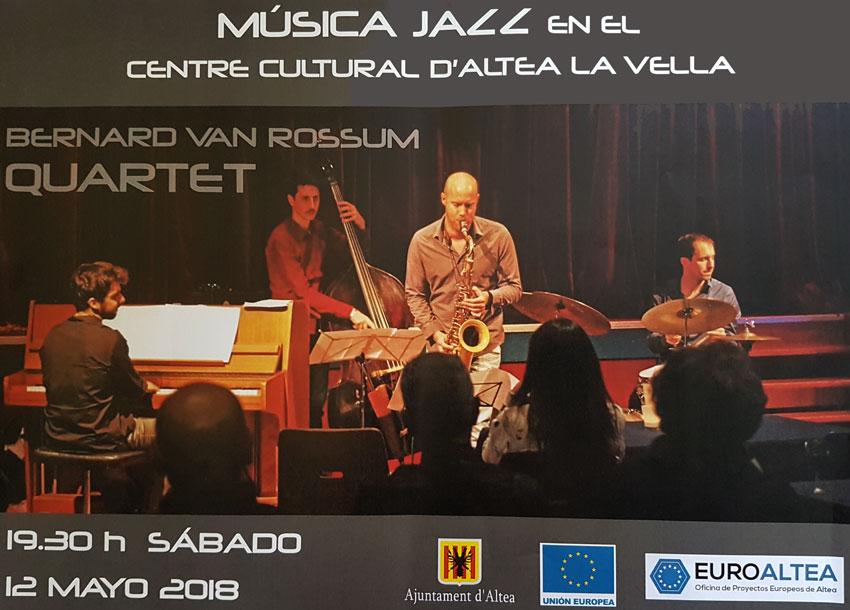 Jazz amb motiu del Dia d'Europa al Centre Cultural d'Altea la Vella