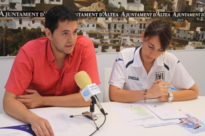 170 xiquetes de la comarca participaran en la II Trobada de Gimnàstica Rítmica d'Altea