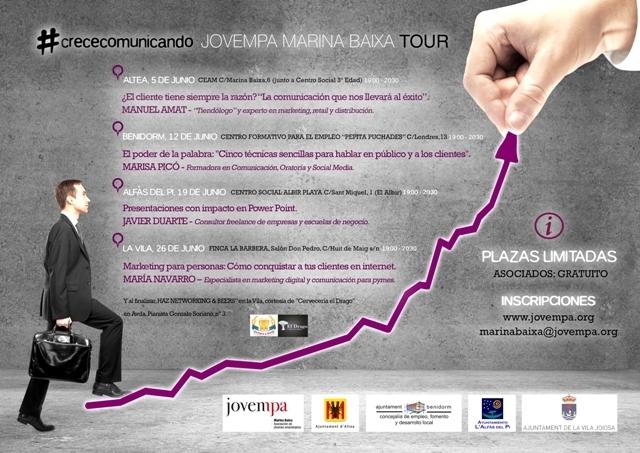 L'Ajuntament col·labora amb Jovempa per a impulsar cursos de formació destinats a joves emprenedors de la localitat