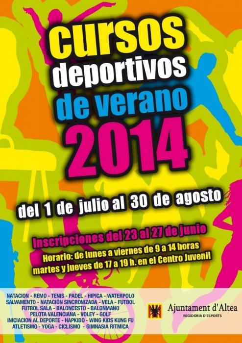 Els Cursos Esportius d'Estiu 2014 es posen en marxa