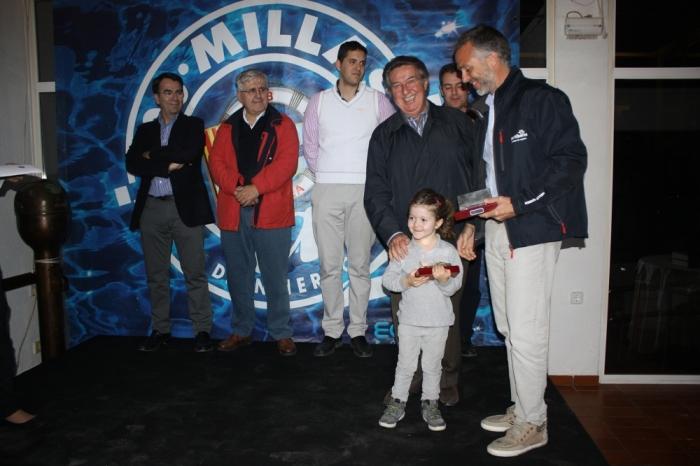 El Club Nàutic d'Altea lliura els lingots de plata als vencedors de la XXVII 200 Milles a2.