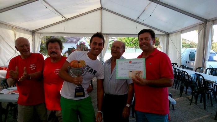 Ramón Izquierdo aconsegueix el primer premi a la Major Tomaca
