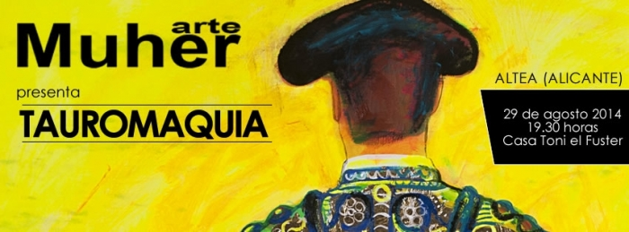 Avui s'inaugura  l'exposició TAUROMÀQUIA de MUHER