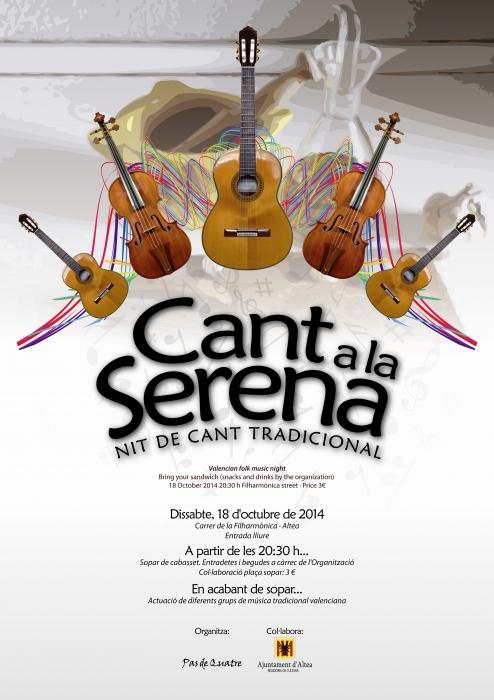 """La música tradicional valenciana torna amb """"Cant a la Serena"""""""