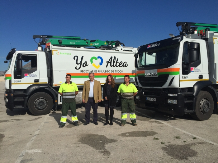 Altea comptarà amb dos nous camions per a la recollida de residus sòlids