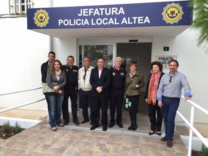 Jornada de portes obertes en la nova Prefectura de la Policia Local de Altea