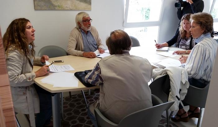 Les associacions veïnals de la serra d'Altea traslladen les seues demandes a les edils de Proximitat