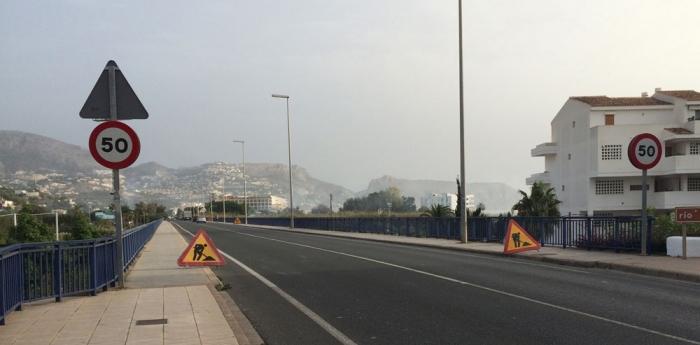 El Ministeri de Foment inicia dilluns que ve el microfresat d'un tram de la carretera nacional 332 al seu pas per Altea