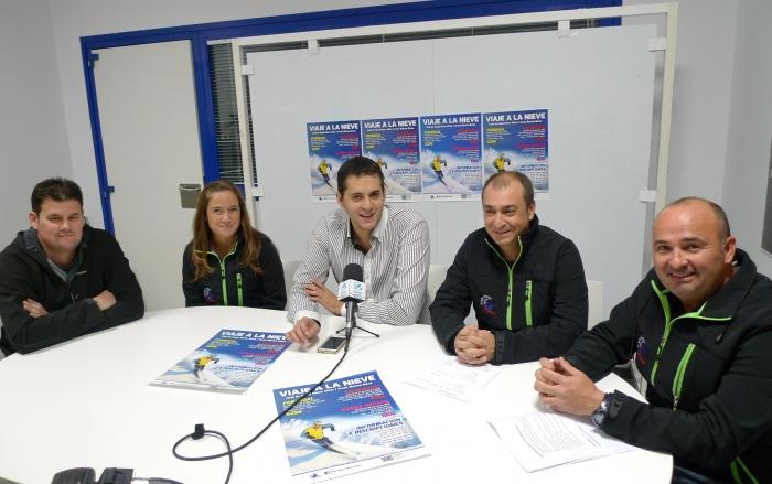 Esports presenta l'oferta de viatges d'esquí del club 'Nieve Altea'