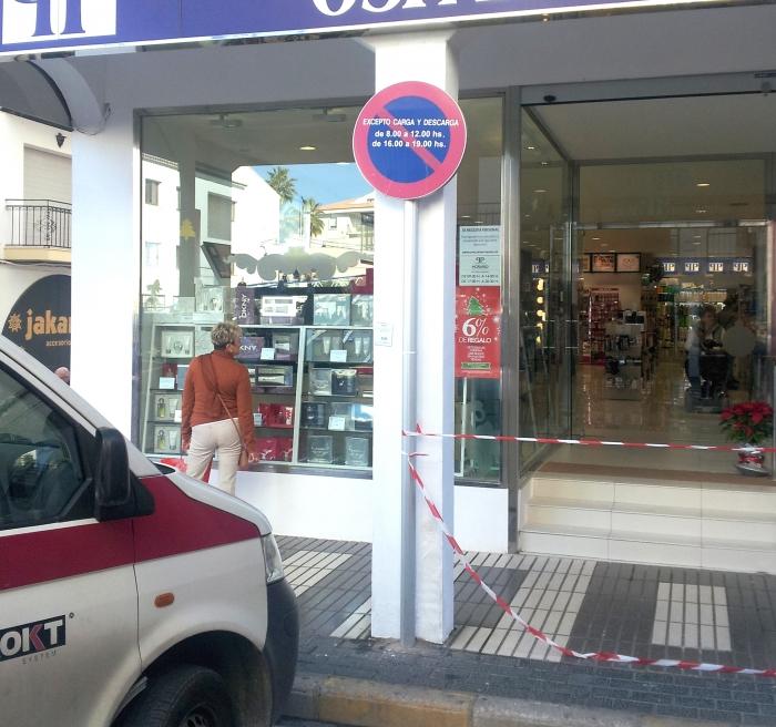 Seguretat Ciutadana i Tràfic inicien una campanya de Nadal per a la seguretat en el comerç local