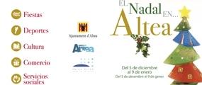 L'Ajuntament prepara activitats, per a tots els públics, amb motiu del Nadal a Altea la Vella