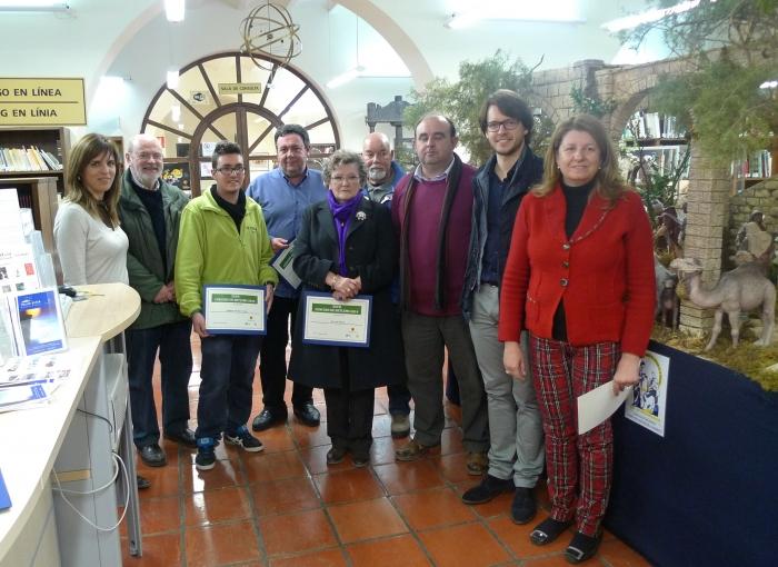 Es lliuren els premis de la vintè setena edició del concurs de pessebres de Altea