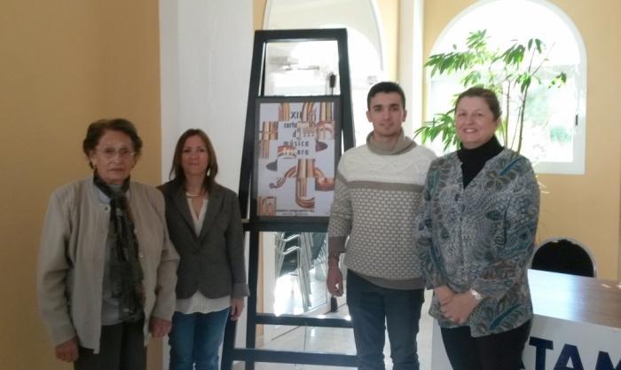 La Societat Recreativa Musical d'Altea la Vella presenta el cartell anunciador del XI Certamen de Música Festera