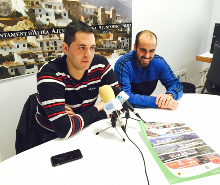 Esports organitza quatre rutes de senderisme que recorreran paratges de la província de Alacant