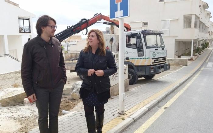 L'Ajuntament adecua una parcel·la municipal en Les Piteres on se situarà un parc infantil