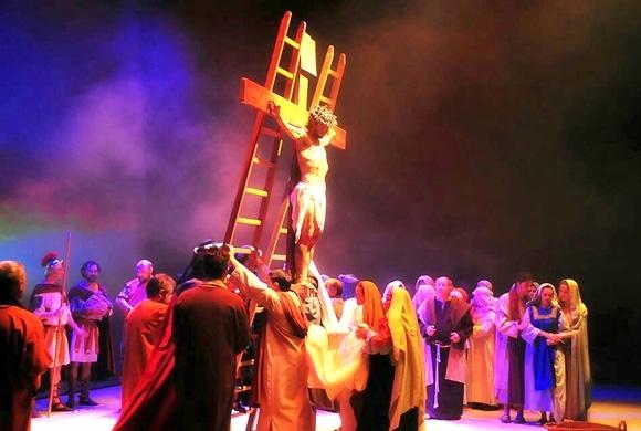La Passió obri els actes de la Setmana Santa en Altea