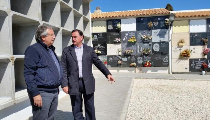 L'Ajuntament amplia els nínxols del cementeri municipal
